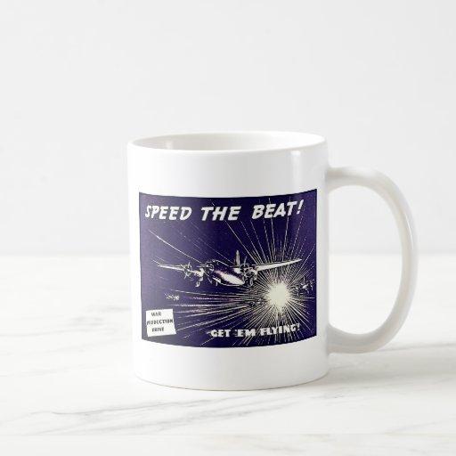 Speed The Beat Classic White Coffee Mug