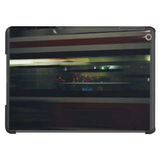 Speed Themed, A Bus In Speed Captured In Motion Wi iPad Air Cases