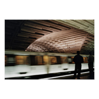 Speed train poster