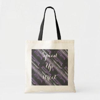 speed up street 50 totebag tote bag
