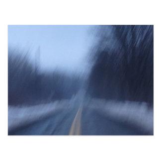 Speed Warp Postcard
