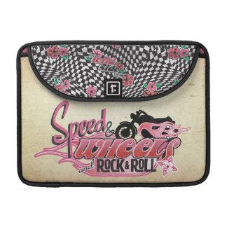 Speed & Wheels and Rock & Roll MacBook Pro Sleeve