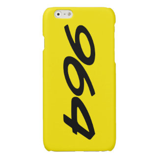 Speed Yellow 964 Glossy iPhone 6 Case