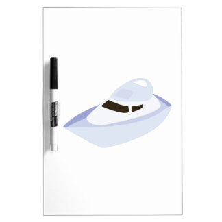 Speedboat Dry-Erase Whiteboard