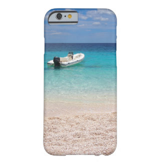 Speedboat in the blue sea barely there iPhone 6 case
