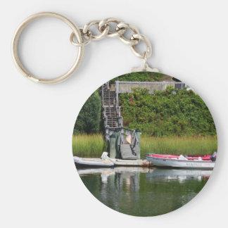 Speedboats, Cape Cod Keychain