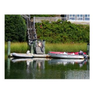 Speedboats, Cape Cod Postcard