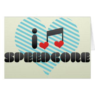 Speedcore Tarjeta De Felicitación