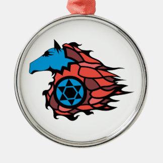 SpeedHorse Metal Ornament