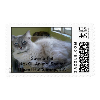 Speedie 3 2 Save-a-PetNo-Kill Animal Shelter Postage Stamp