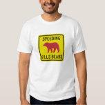 Speeding Kills Bears T-Shirt
