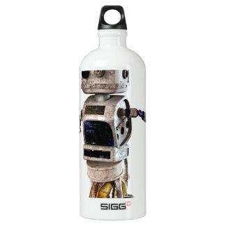 Speeding Robot Aluminum Water Bottle