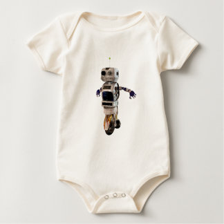 Speeding Robot Baby Bodysuit