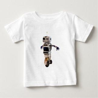 Speeding Robot Baby T-Shirt
