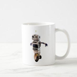 Speeding Robot Coffee Mug