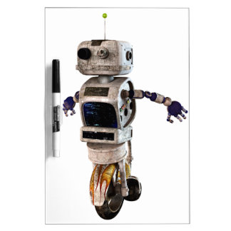Speeding Robot Dry-Erase Whiteboards