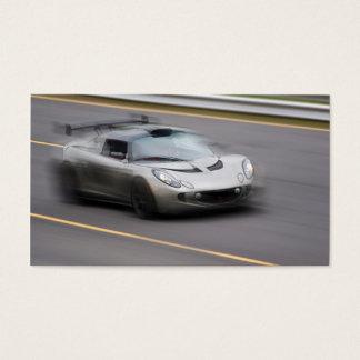 Speeding Sports Car Business Card