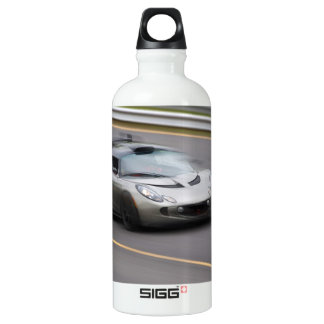 Speeding Sports Car Water Bottle