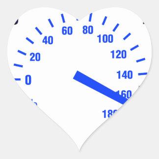 Speeding Heart Sticker