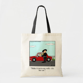 Speeding Ticket/Police Humor Tote Bag