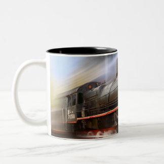 Speeding Train Coffee Mug