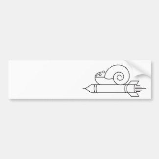 speeding up bumper sticker