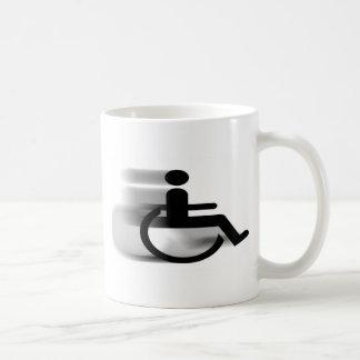 Speeding Wheelchair Mug