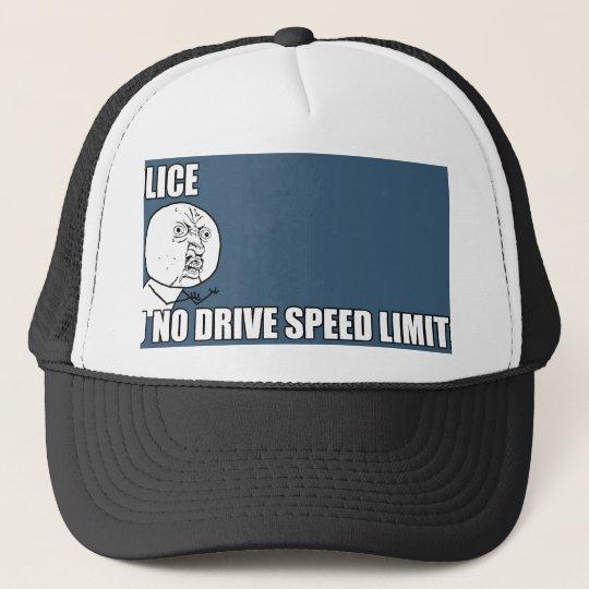 SPEEDLIMIT.png Trucker Hat