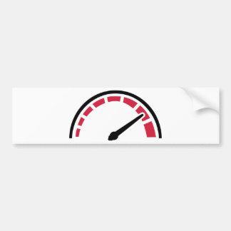 Speedo racing motorcycle car bumper sticker