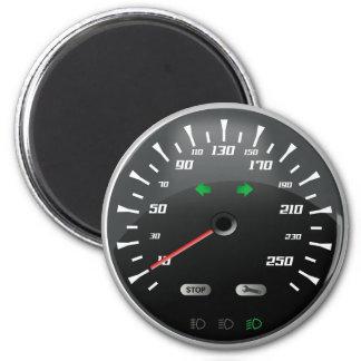 Speedometer 2 Inch Round Magnet