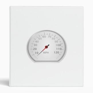 Speedometer 3 Ring Binder