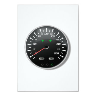 Speedometer Card