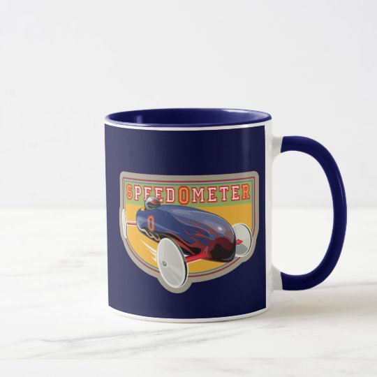 Speedometer Coaster Car Mug