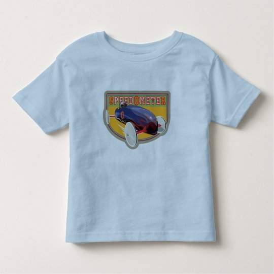 Speedometer Coaster Car Toddler T-shirt