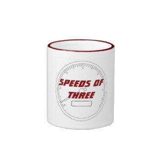 Speeds of THREE! Mug