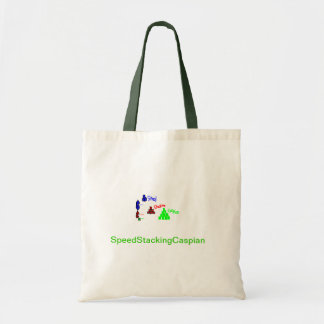 SpeedStackingCaspian tote bag