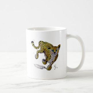 Speedster Cheetah cub running Coffee Mug