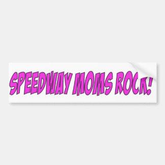 Speedway MOMS Rock Bumper Sticker