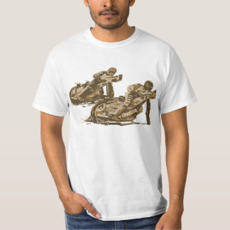 Speedway Motorcycle Racers T-Shirt