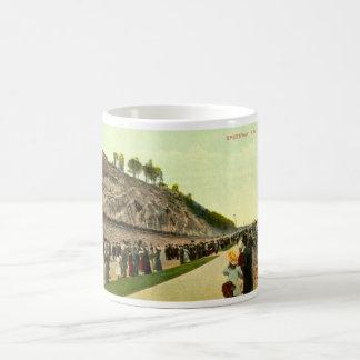 Speedway, New York City, 1910 Vintage Coffee Mug