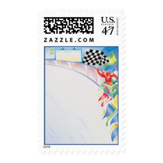 Speedway © postage stamp