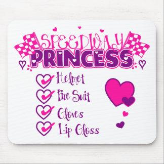 Speedway Princess Mouse Pads