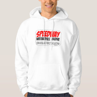 Speedway Racing,Born in UK..Perfected in Californi Hooded Sweatshirt