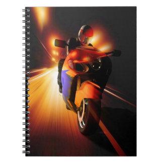 Speedy Biker Notebook