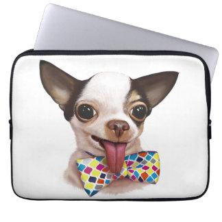 Speedy Boy Boy Chihuahua Laptop Sleeve