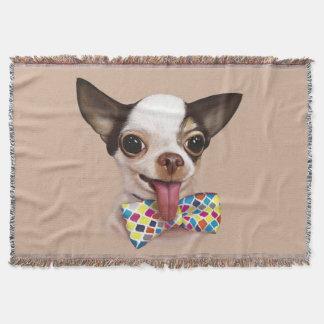 Speedy Boy Boy Chihuahua Throw Blanket