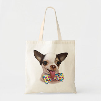 Speedy Boy Boy Chihuahua Tote