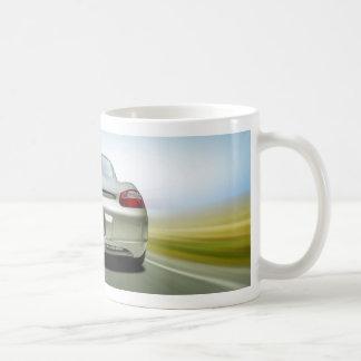 Speedy Car Basic White Mug