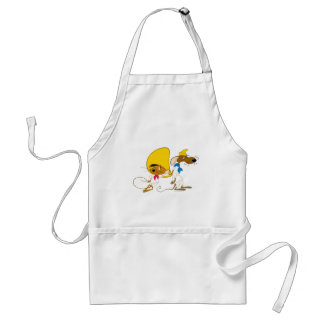 Speedy Gonzales and Friend Adult Apron