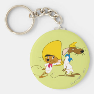 Speedy Gonzales and Friend Keychain